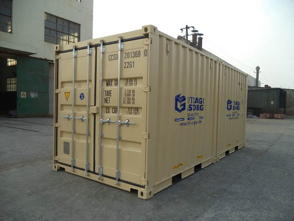 10 foot storage container.