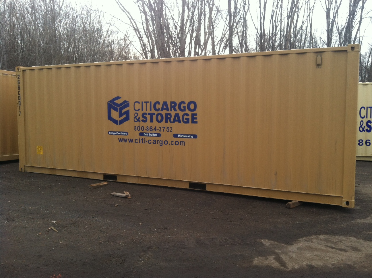 These 25u2032 X 8u2032 Storage Units Are Brand New And Carry Full ISO/shipping  Container Specifications. Additional Features Include A Lock Box For Added  Security, ...