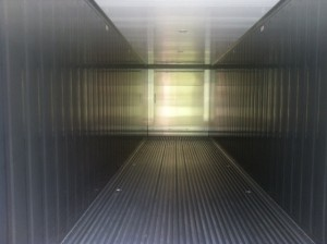 40' reefer inside photo