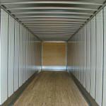 utility trailer interior view