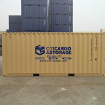 20' storage container.