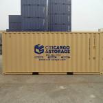 20' storage container.