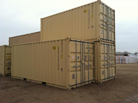 New 20x8 Storage Containers