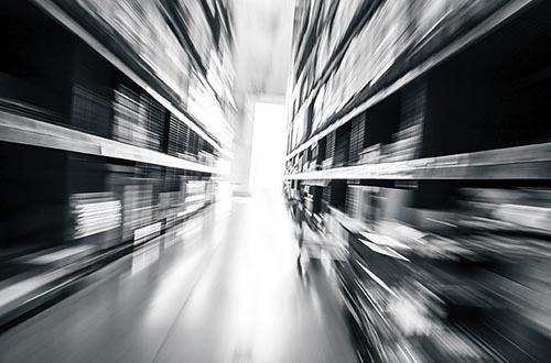 warehouse of furniture
