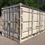 20' side-opening storage container