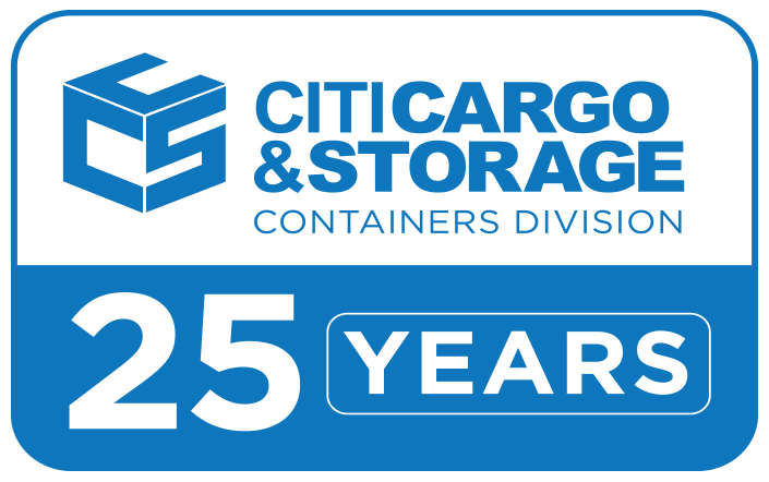 25 years container division logo