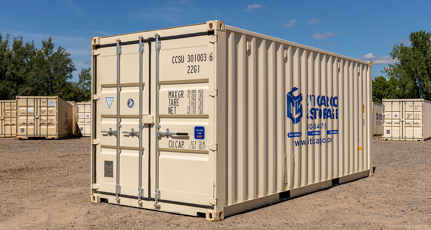 storage container yard