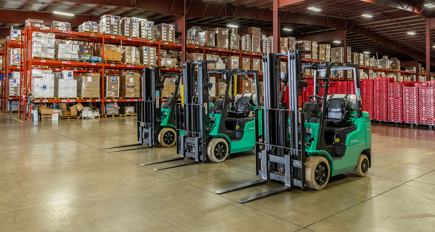emergency warehousing and distribution