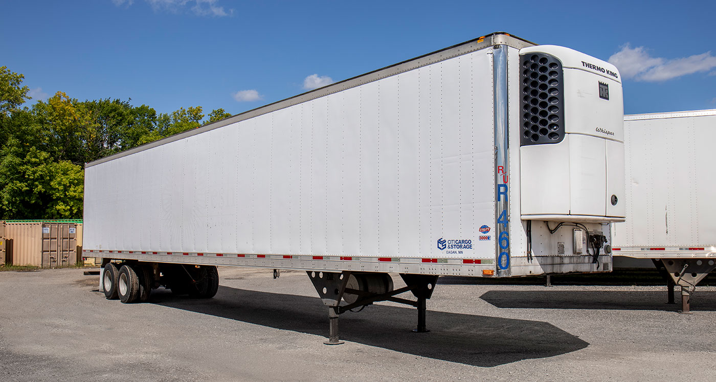 refrigerated storage trailer