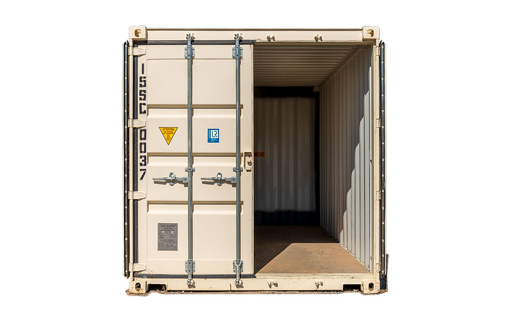 15 foot storage container for lease