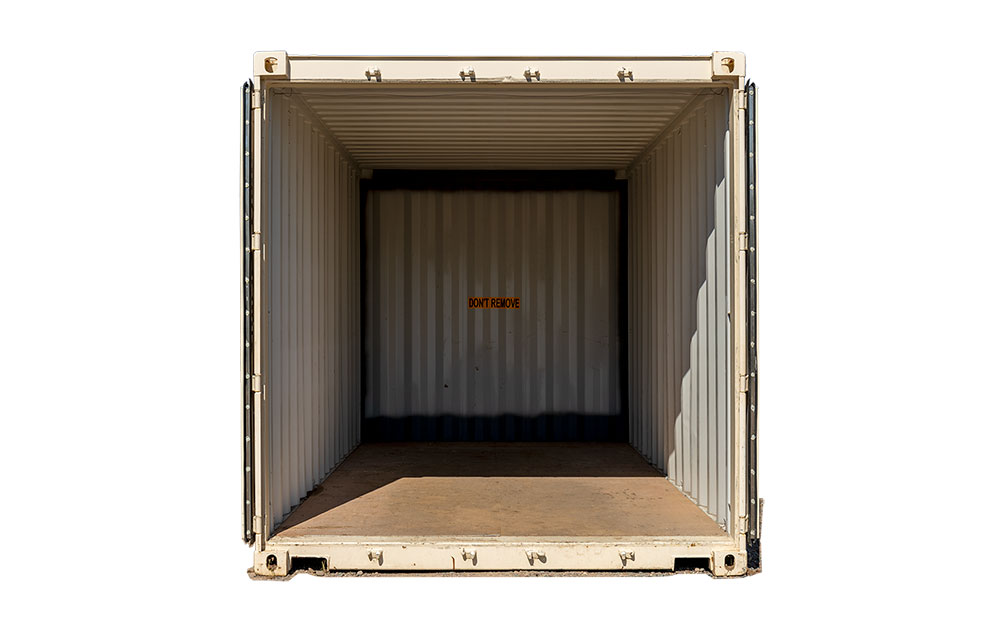 15 foot storage container for rent