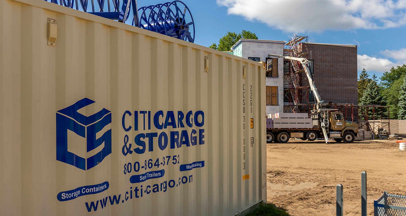 on-stie storage container