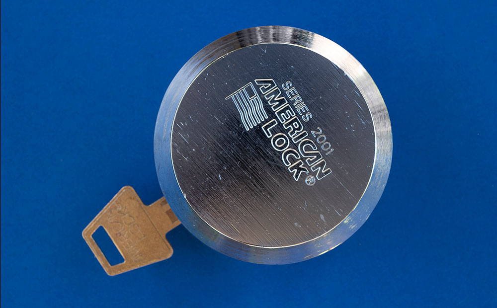 storage container lock and key
