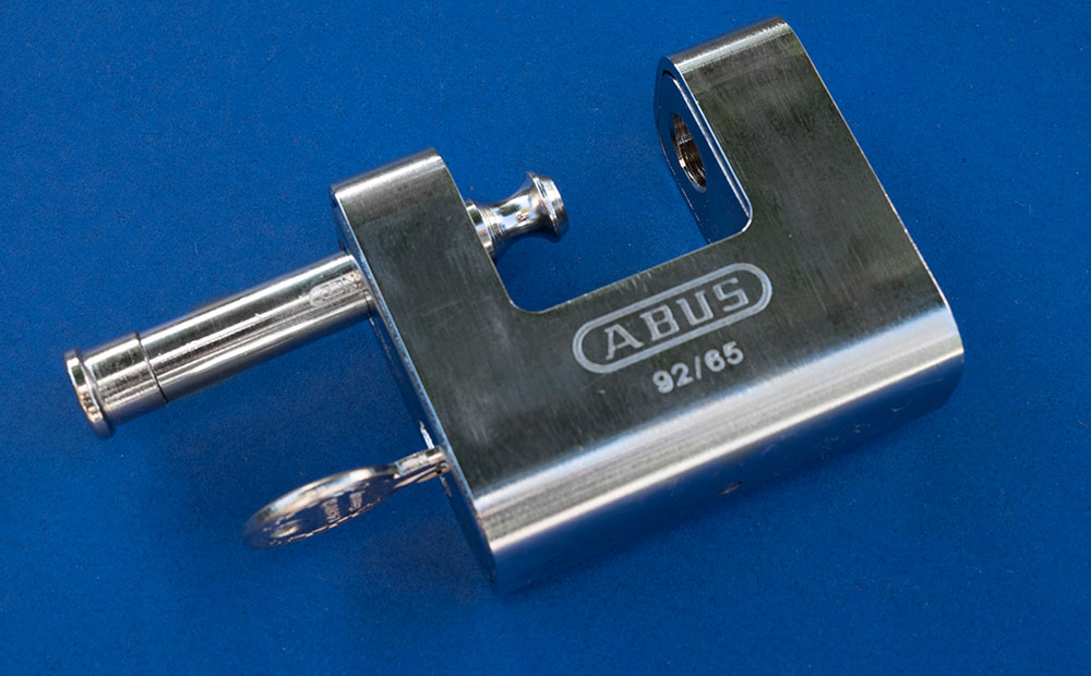 abus storage container lock