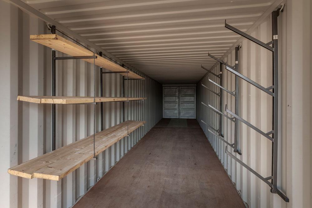 interior storage container racks