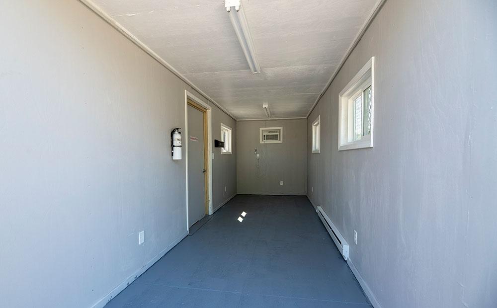40 foot temporary office interior
