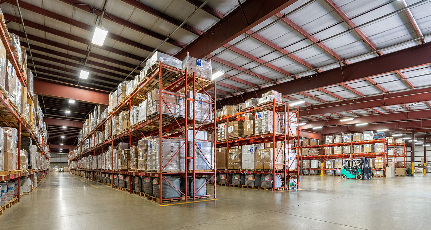 large warehouse space