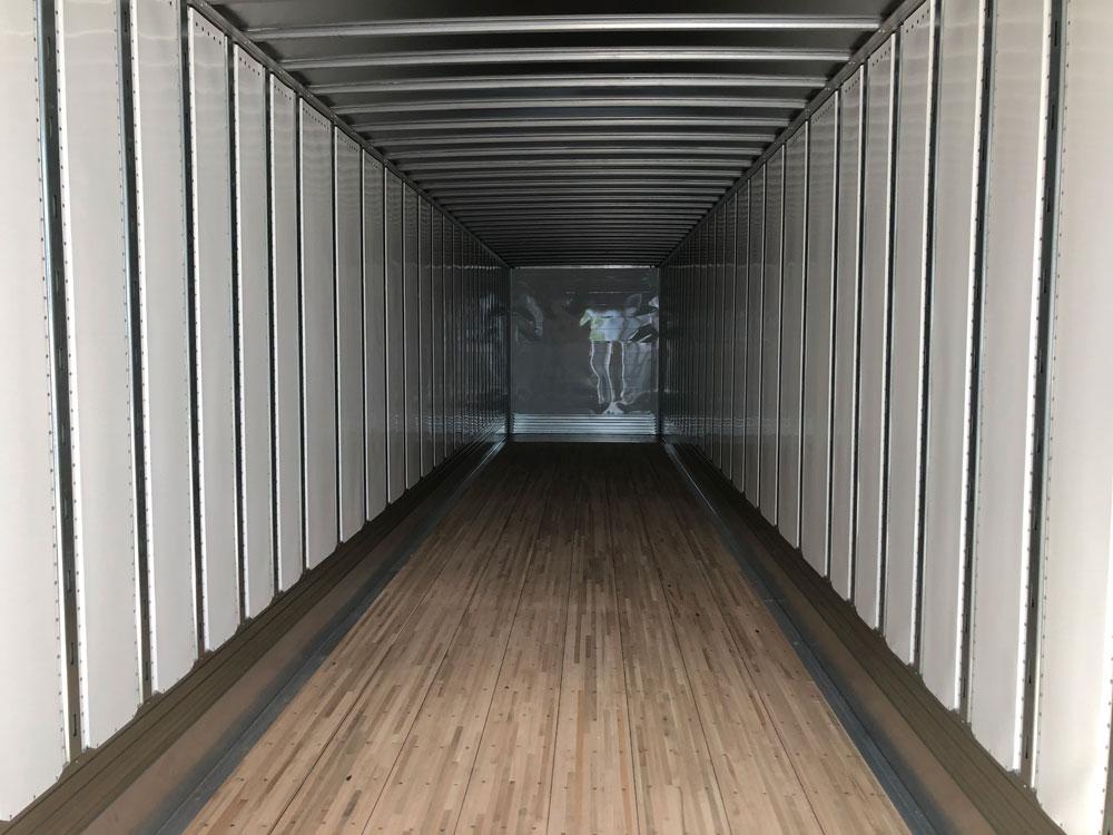 new 2021 53 foot trailer interior